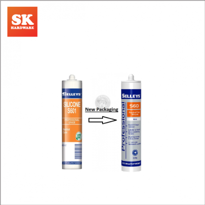 SELLEYS S601 SILICONE NEUTRAL-300GM