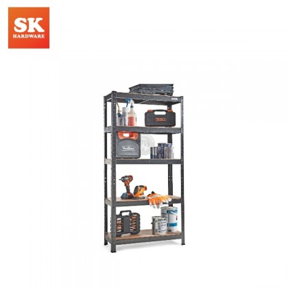GS-T5 5 TIER METAL MULTI RACK WITH MDF BOARD