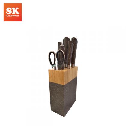 8PC G030/DF-1028 S/STEEL KNIFE SET