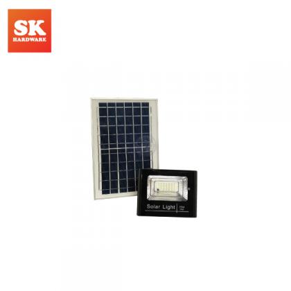 100W SOLAR STREET FLOOD LIGHT C/W REMOTE CABLE