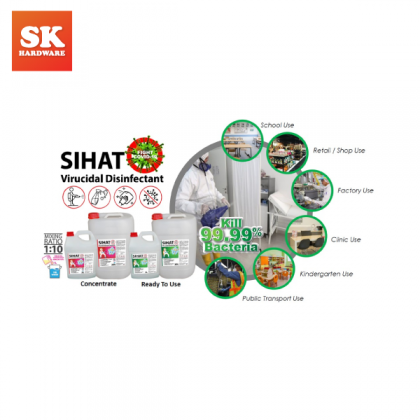 5L SIHAT VIRUCIDAL DISINFECTANT (READY TO USE)HD1805-DSC